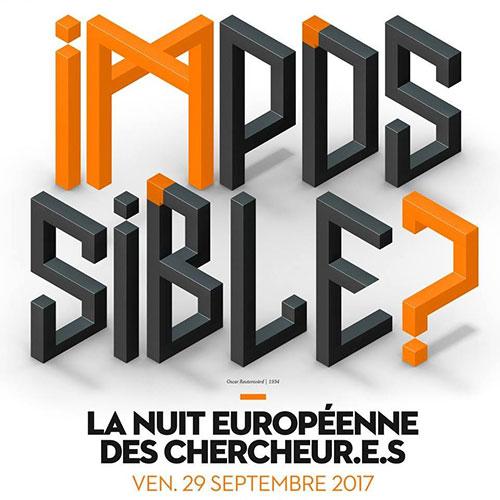 Nuit Européenne des chercheurs Groupe Déjà théâtre sur mesure