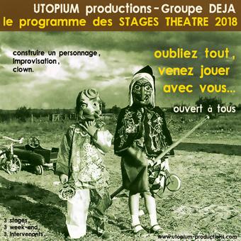 Groupe Déjà / Sébastian Lazennec / Stages et formations théâtre